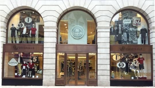 Lotus ouvre sa boutique sur Regent Street, à Londres