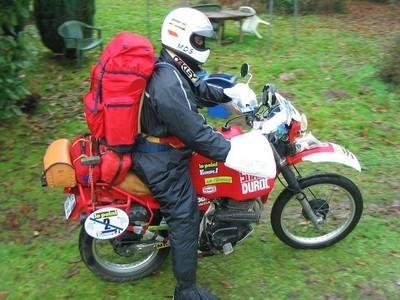 3ème Rétro Dakar: 2300 km non stop du 28 au 30 décembre pour Patrick Lehue.