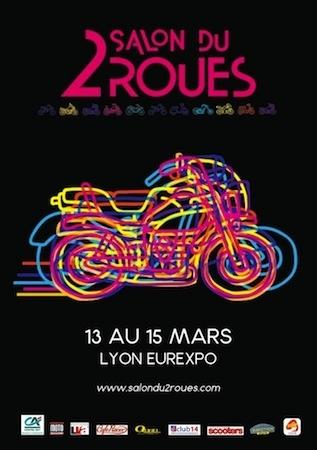 22ème Salon du 2 roues: les 13, 14 et 15 mars 2015 à Eurexpo