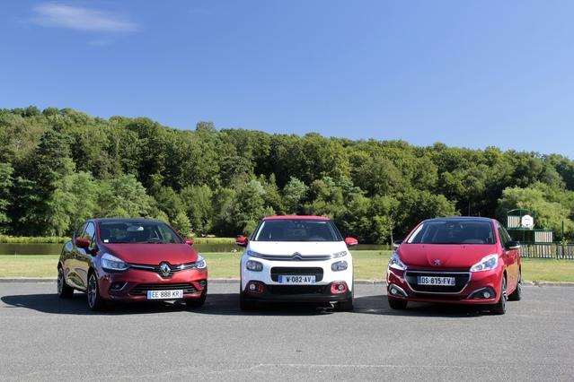 Comparatif vidéo - Nouvelle Citroën C3 contre Peugeot 208 et Renault Clio : pas là pour faire de la figuration
