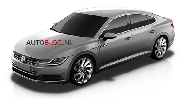 Volkswagen : ceci pourrait être la nouvelle CC