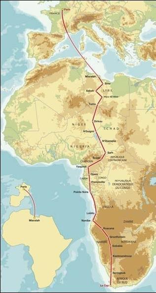 20 ans déjà : La Dakar va au Cap et le GPS apparaît
