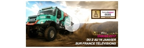 Dakar 2017 : le dispositif de France Télévision