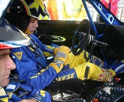 Rossi étudie la possibilité de s'engager au Rallye de Grande Bretagne