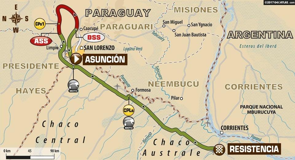 Dakar 2017 - étape 1 : Xavier De Soultrait le plus rapide