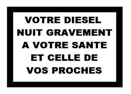Point info de 15h - Votre diesel tue !