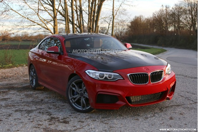 Surprise : un mystérieux prototype BMW