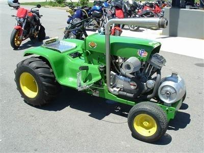 Photo du jour : Tracteur Buell