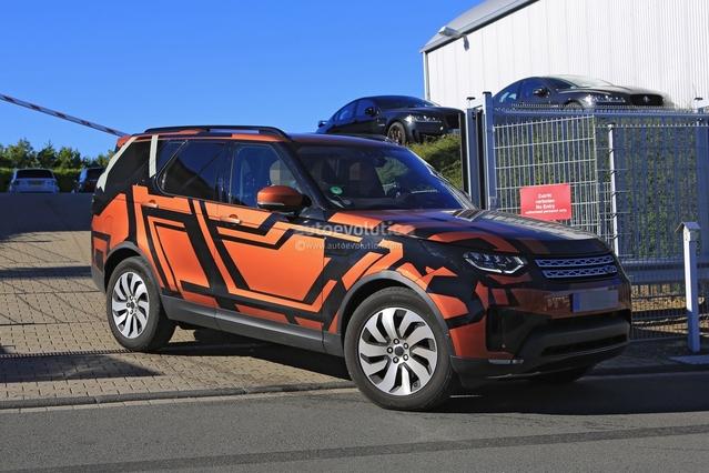 Surprise : le nouveau Land Rover Discovery se montre en Allemagne