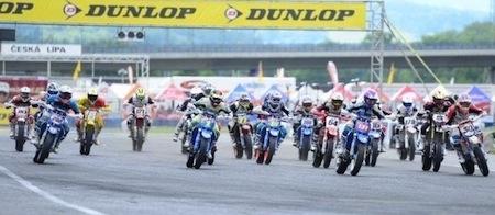 Supermotard, championnat du Monde 2013, round 3: nouveau doublé pour Hermunen!