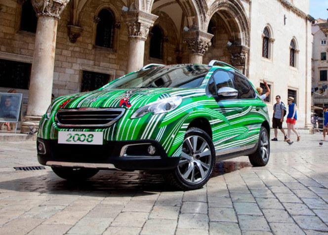 """Peugeot 2008 """"Art Car by Boris Bucan"""""""
