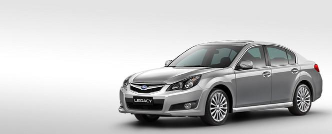Les Subaru Legacy et Outback brillent au cours des tests de sécurité