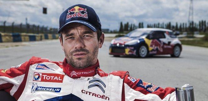 Sebastien Loeb : sortie de route, tonneau et abandon au rallye de France en Alsace