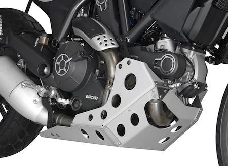 Givi: sabot pour Ducati Scrambler