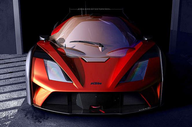 Le KTM X-Bow GT4 se dévoile doucement