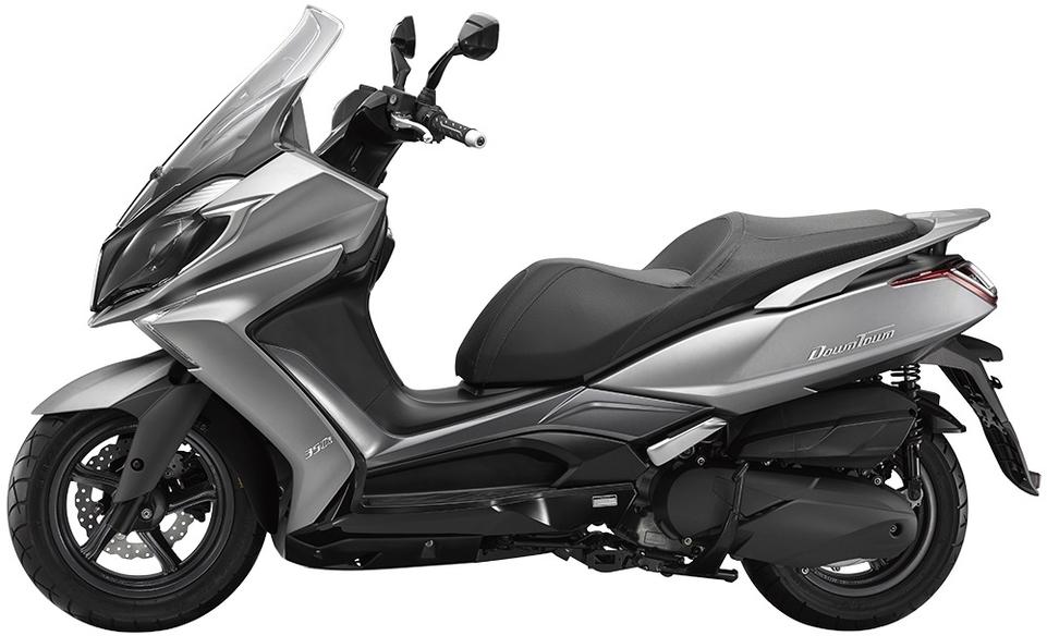 Kymco : tarif et disponibilité des Downtown 125 ABS/300 ABS