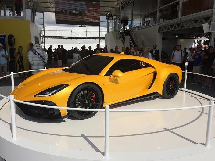 Noble lance une nouvelle auto avec le moteur de la Ford GT