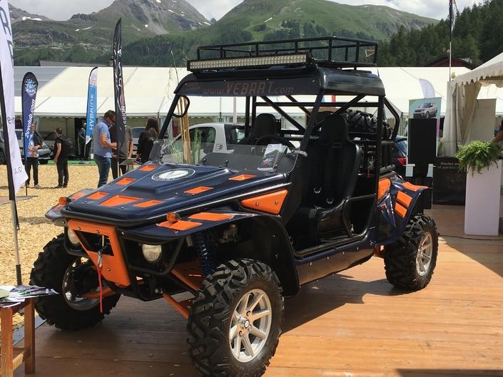 Salon de Val d'Isère - Vebrat Isard: le buggy à la française en vidéo
