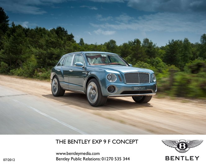 Bentley EXP 9 F: 2000 intentions de vente!