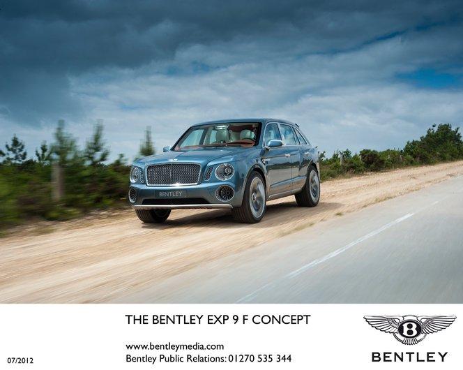 Bentley EXP 9 F: 2000 intentions de vente!