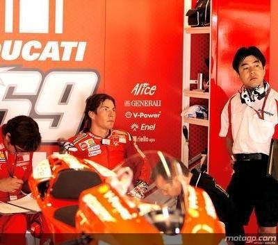 Moto GP - Catalogne: Une chute qui ne sape pas le moral d'Hayden