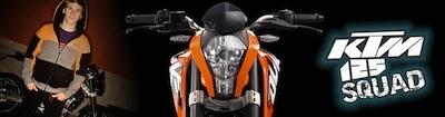 KTM 125 Squad : devenez ambassadeur officiel KTM en testant la nouvelle 125 Duke.