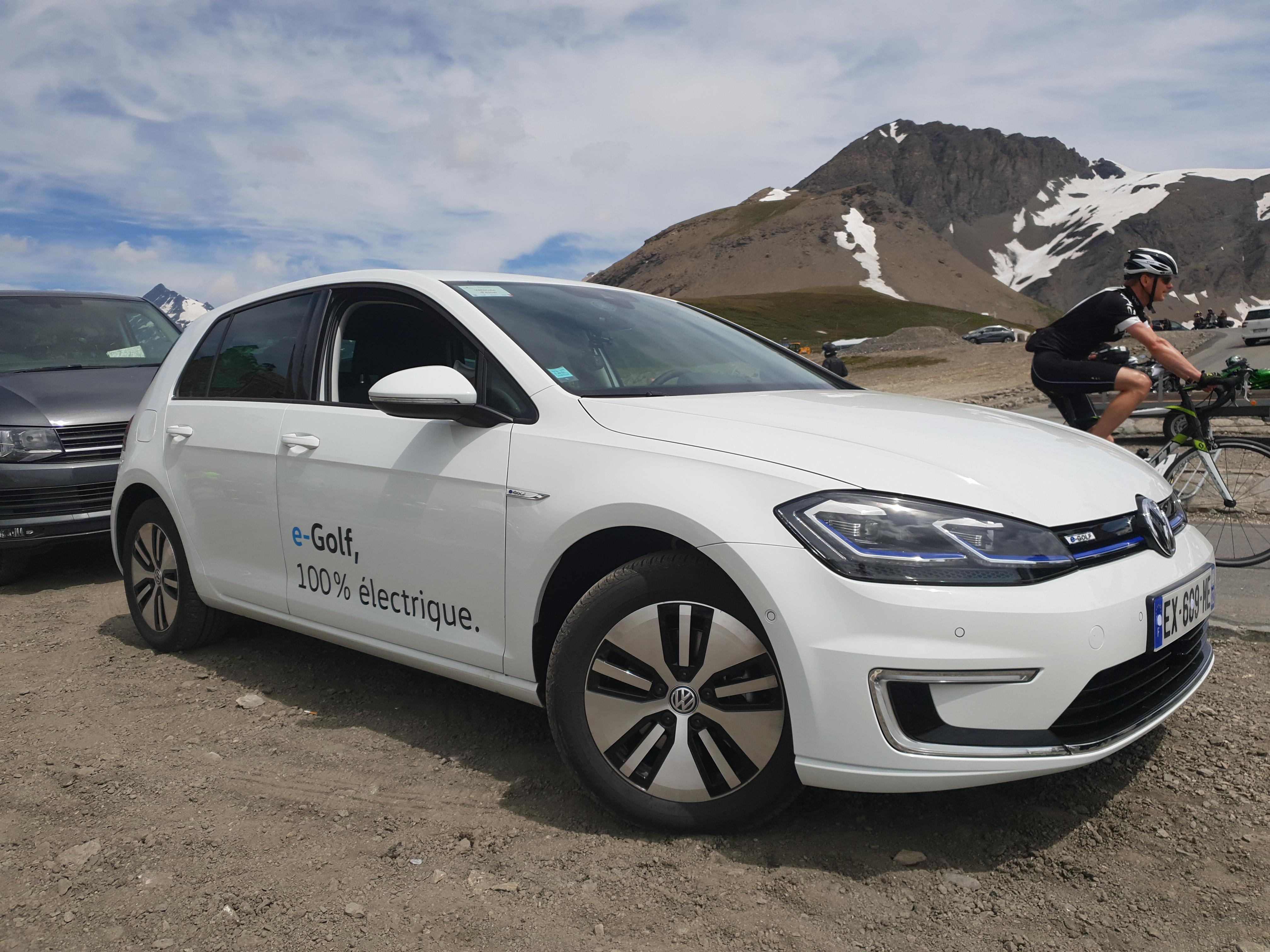 VW E-GOLF voiture electrique 2020