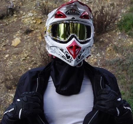 Essai Bering tour de cou: une protection contre le froid... façon cowboy.
