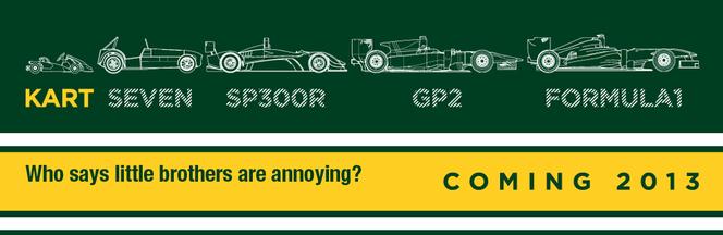 Caterham en karting dès 2013