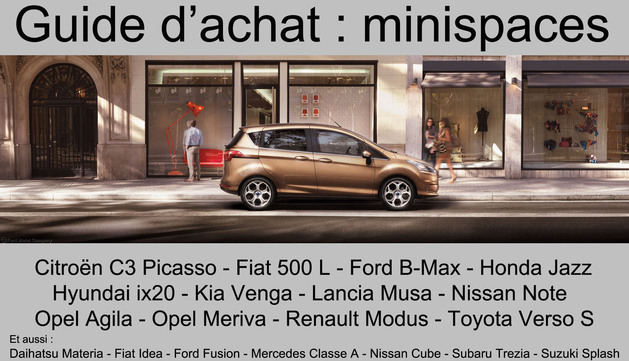 Guide d'achat : minispaces