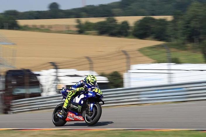 MotoGP - Allemagne J.2: Valentino Rossi en embuscade