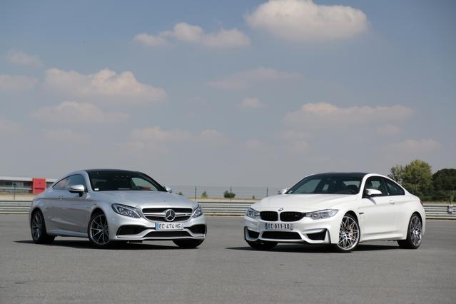 Comparatif vidéo - BMW M4 Compétition vs Mercedes AMG C63 Coupé : machines à plaisir
