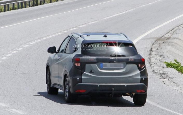 Premiers tests routiers européens pour le Honda HR-V restylé