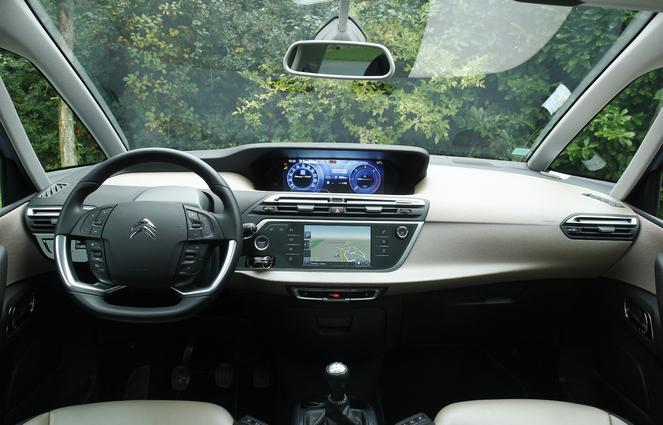 Essai - Citroën C4 Picasso HDi 90 ch : petit moteur pas ridicule, mais...