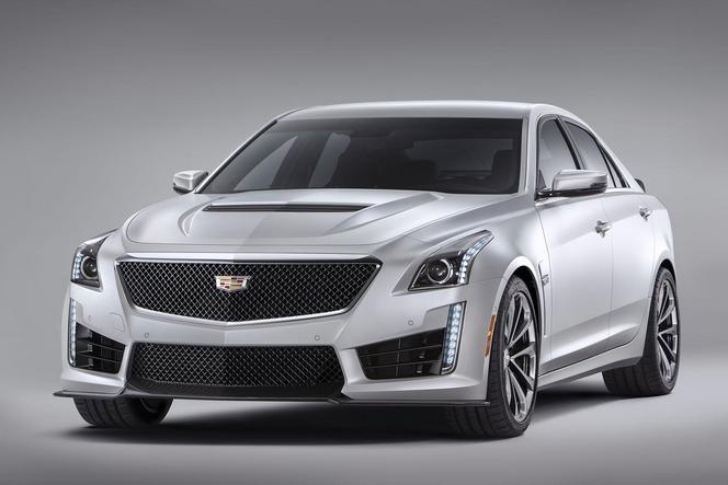 Detroit 2015 : voici la nouvelle Cadillac CTS-V de 640 ch