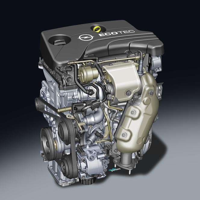 Opel présente son nouveau 1,0 litre SIDI turbo