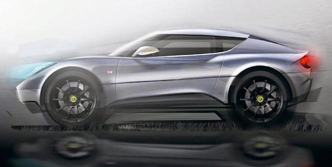 Future Lotus Evora crossover : c'est tout à fait possible