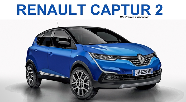 renault remplacera son captur en 2020. Black Bedroom Furniture Sets. Home Design Ideas