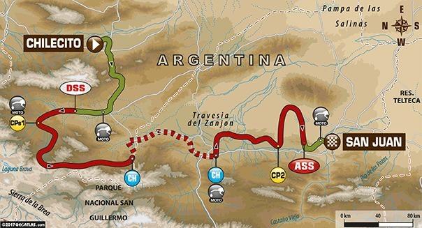 Dakar 2017 - étape 10 : victoire de Barreda, Sunderland toujours leader