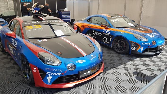 Alpine GT4 à Dijon Prenois : l'autre match en bleu (reportage vidéo)