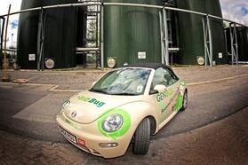 VW Beetle BioBug : elle marche au caca