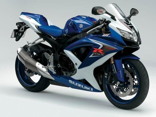 Nouveauté 2008 : Suzuki GSX-R 600
