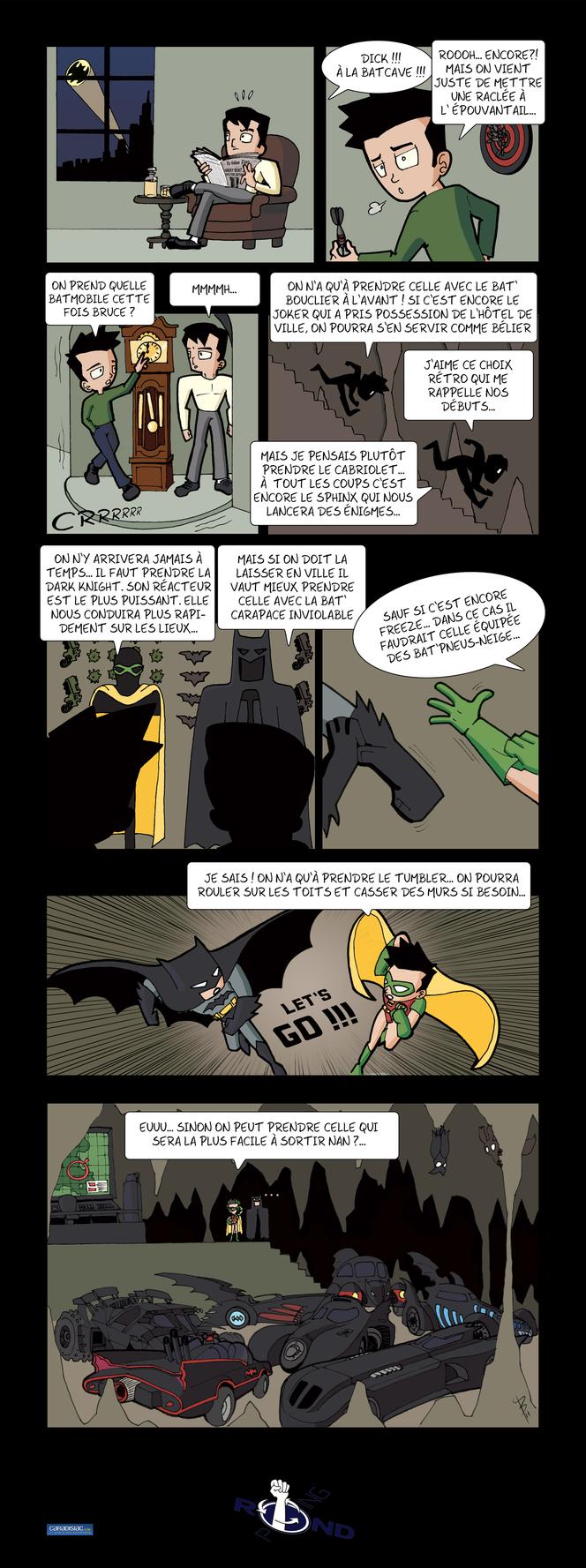 Rond-Poing, Episode 25: L'art du comique, selon Batman !