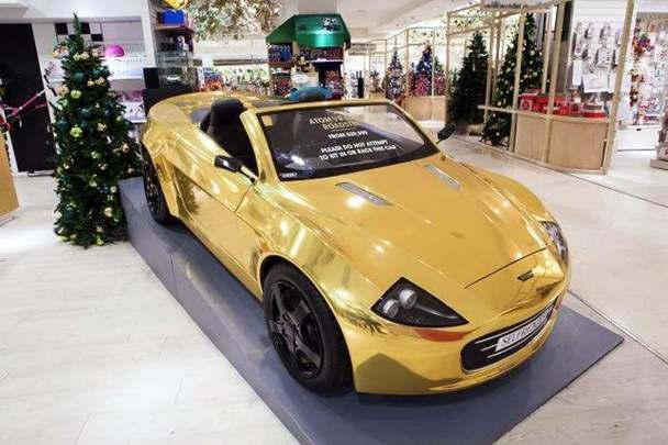 Un magasin anglais vend une petite voiture électrique pour enfant 38 280 €
