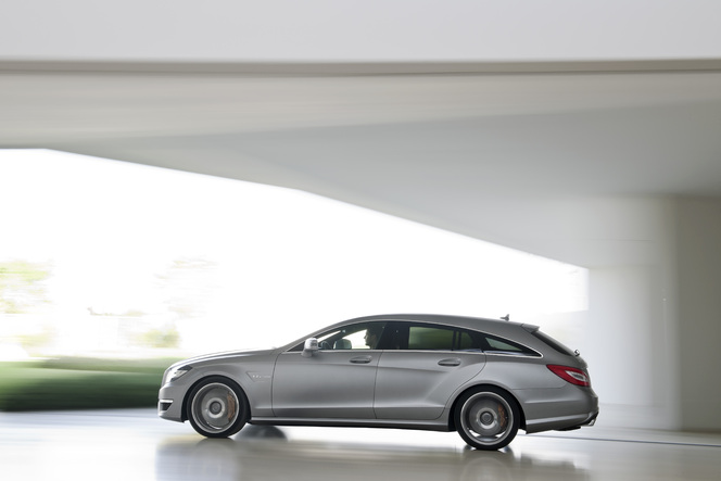 Voici la Mercedes CLS 63 AMG Shooting Brake