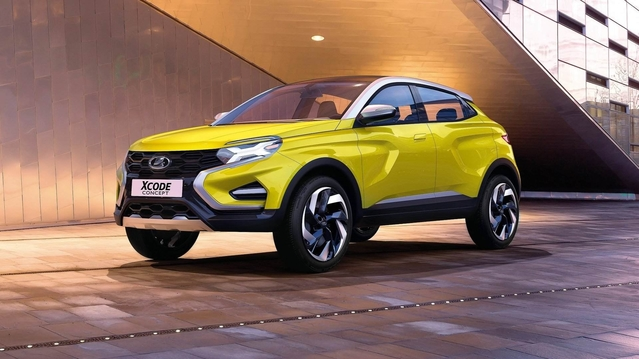 Lada Xcode Concept : crossover compact en approche