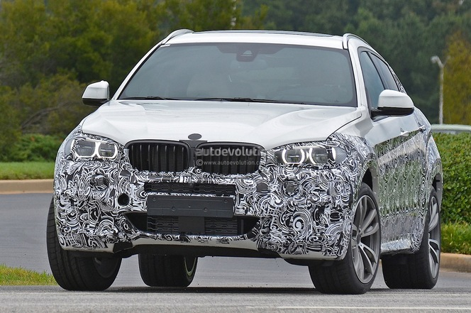 Surprise : le futur BMW X6 en balade