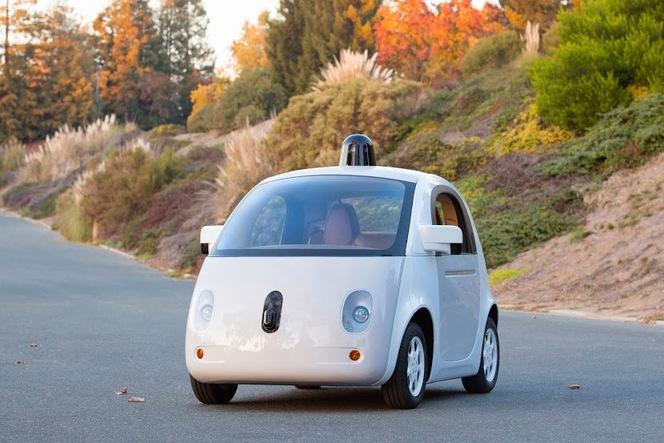 Google Car : voici le premier véritable prototype prêt à rouler en 2015