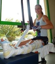 Interview d' Alice Geneste : Des nouvelles de notre championne d'enduro, gravement blessée fin mai 2009