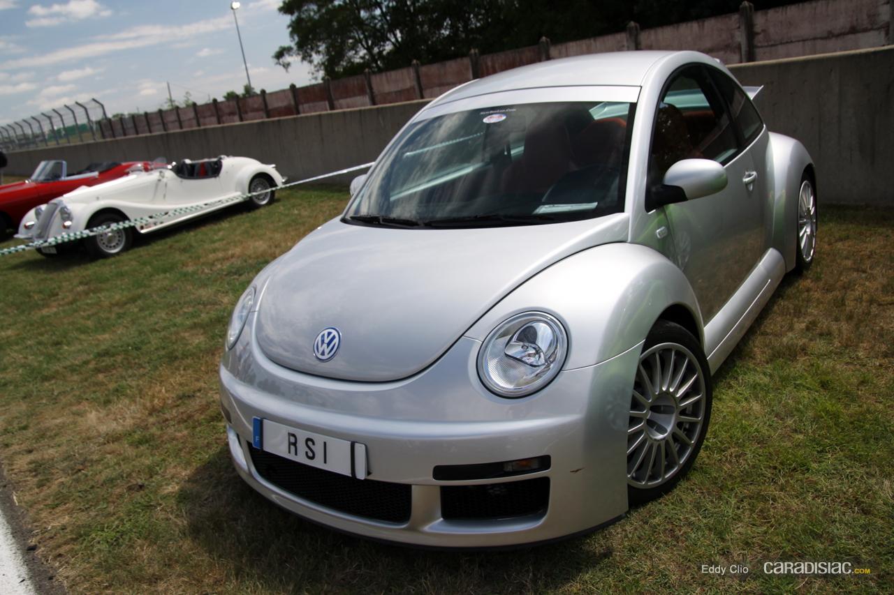 photos du jour volkswagen new beetle rsi le mans classic. Black Bedroom Furniture Sets. Home Design Ideas